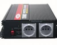 Měnič napětí z 12V na 230V/ 1200W + autonabíječka 12V/2A + UPS
