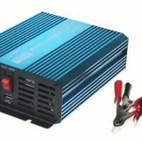 Měnič napětí sínusový 12/230V 400W + USB