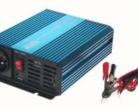 Měnič napětí sinusový 12/230V 400W + USB