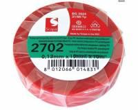 PVC izolační páska červená zn. SCAPA, 15mmx10m