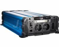 Měnič napětí sinusový12/230V 2500W s LCD