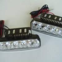 Přídavné LED světlomety pro denní svícení. Homologované.