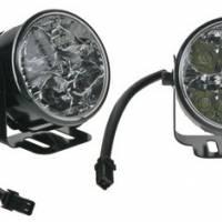 Světla kulatá pro automatické denní svícení s LED, homologace